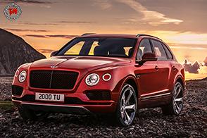 Potenza da vendere per il nuovo Bentley Bentayga V8