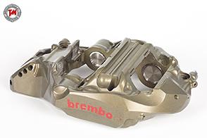 Pinze Brembo TCR con dischi anteriori da 390mm