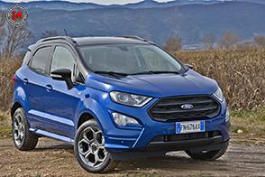 Nuova Ford EcoSport: iniezione di tecnologia ed Ecoboost!