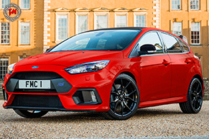 Ford Focus RS Red Edition: la special edition riservata al mercato UK