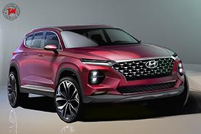 Hyundai diffonde il primo rendering della nuova Santa Fe