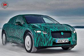 Continuano i test per la rivoluzionaria Jaguar I-Pace