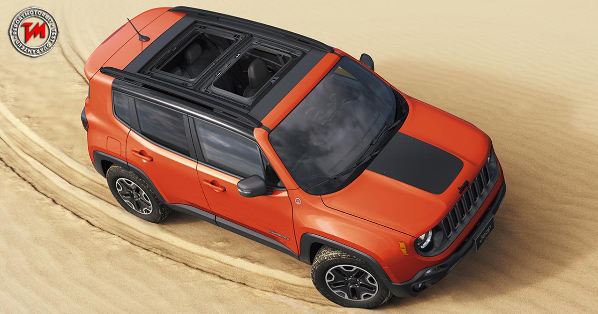 Jeep renegade my 2018 nuove personalizzazioni e for Interno jeep renegade