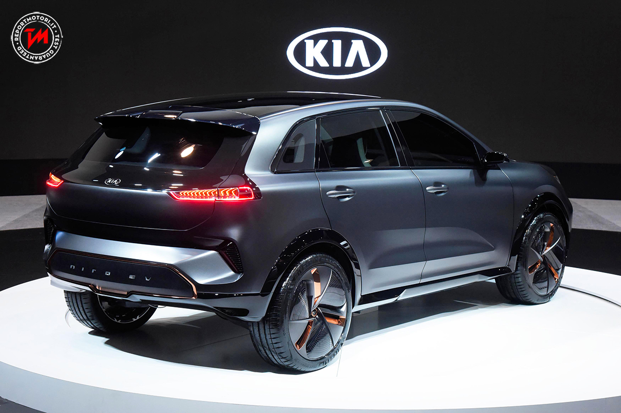 al ces di las vegas presentata la kia niro ev concept. Black Bedroom Furniture Sets. Home Design Ideas