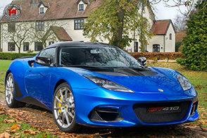 Massima cura aerodinamica per la nuova Lotus Evora GT410 Sport