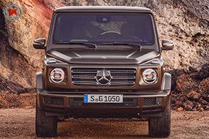 Fascino immutato per la nuova Mercedes-Benz Classe G
