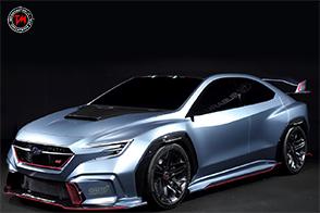 Aggressiva e potente, la nuova Subaru VIZIV Performance STI Concept