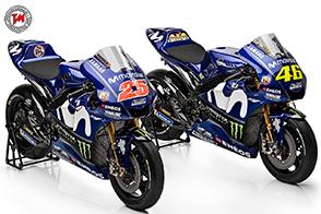 Presentato il Team Movistar Yamaha MotoGP 2018