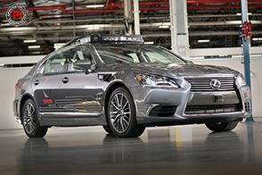 Pronta la guida autonoma 3.0 per la Toyota LS 600h L