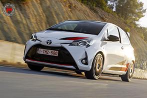 Solo 400 esemplari per la Toyota Yaris GRMN