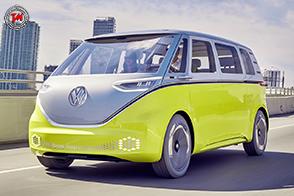 Volkswagen I.D. BUZZ1 con tecnologia NVIDIA