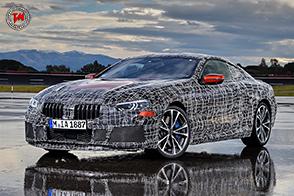 Nuova BMW Serie 8 Coupé : test ultimati sul circuito di Aprilia