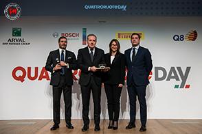 Alfa Romeo Stelvio eletta Novità dell'Anno 2018 dai lettori di Quattroruote