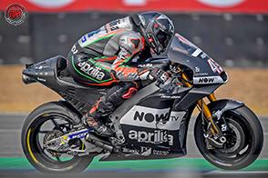 Il Team Aprilia Racing lavora sull'aerodinamica della nuova RS-GP