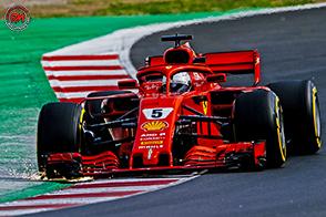 Primi test sul circuito di Catalunya per la Ferrari SF71H