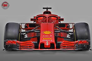 Presentata a Maranello, la nuova monoposto di Formula 1: la Ferrari SF71H