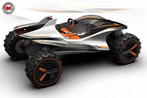 Hyundai Kite: un dune buggy a due posti che diventa jet-ski monoposto