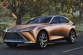 Lexus LF-1 Limitless: un crossover audace e futuristico