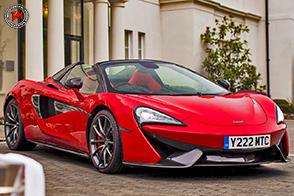 Eccellenza artigianale: McLaren 570S Spider San Valentino