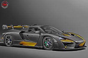 McLaren Senna Carbon Theme by McLaren Special Operations
