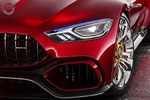 Nuova quattro porte Mercedes-AMG GT Coupé