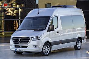 Presentata la terza generazione del Mercedes-Benz Sprinter