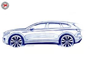Volkswagen annuncia l'anteprima mondiale della nuova Touareg