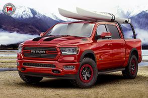 Ram 1500 Flame Red 2019: il pick-up minaccioso!