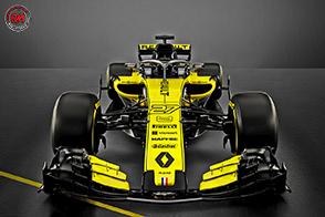 Renault Sport Formula One Team svela la sua monoposto 2018