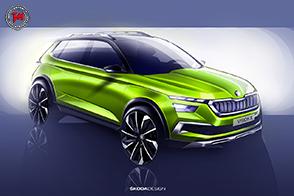 Pronta la nuova Skoda Vision X per il Salone di Ginevra