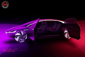 Al Salone dell'Auto di Ginevra, Volkswagen presenterà la I.D. VIZZION