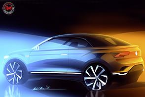 Pronto il SUV decapottabile Volkswagen: la T-Roc Cabriolet