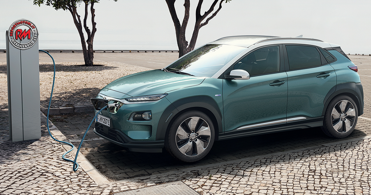 oltre 450 km di autonomia per la nuova hyundai kona electric. Black Bedroom Furniture Sets. Home Design Ideas