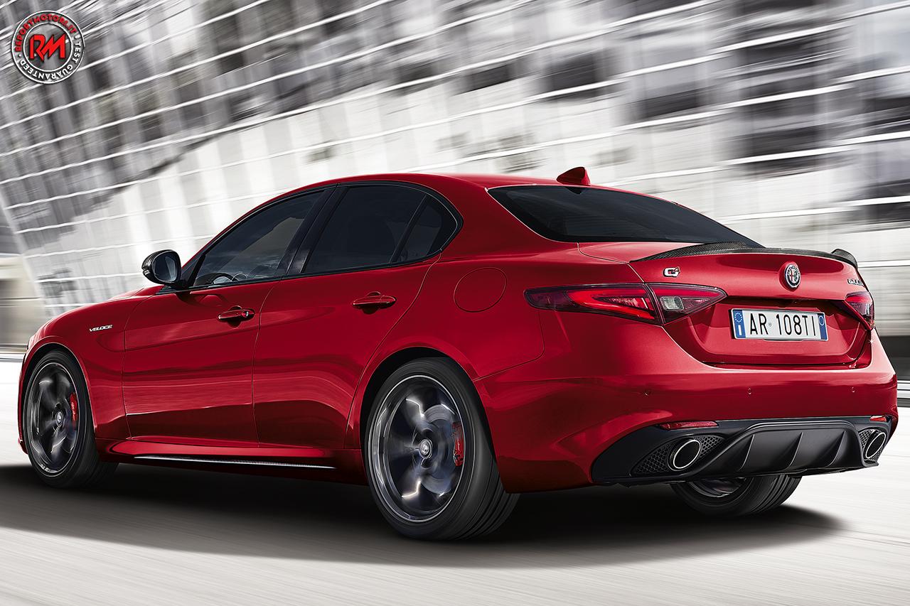 Alfa Romeo Carplay >> Look da Quadrifoglio per la nuova Alfa Romeo Giulia Veloce TI