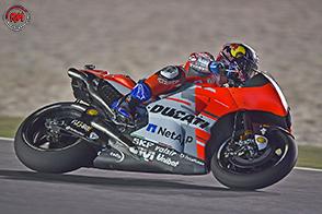 MotoGP – Seconda fila per Andrea Dovizioso, quinto in qualifica a Losail.
