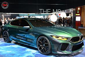 Salto nel futuro per la muscolosa BMW Concept M8 Gran Coupé