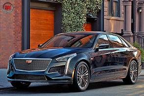 Stile e contenuti sportivi per la nuova Cadillac CT6 V-Sport 2019