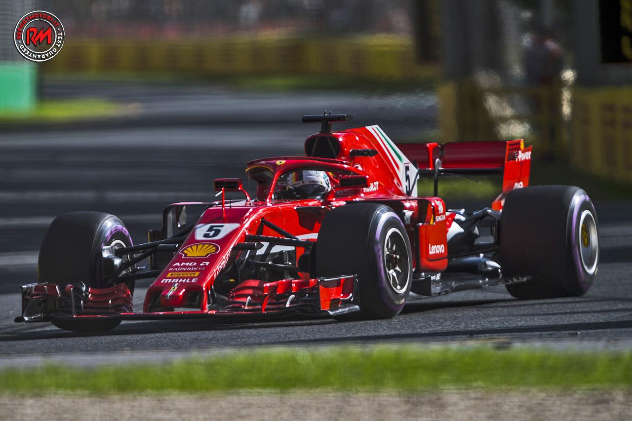 A Melbourne Vince La Ferrari Di Vettel Davanti A Hamilton