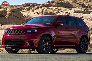 Il SUV Jeep più potente e veloce di sempre: Grand Cherokee Trackhawk