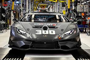 Prodotta la Lamborghini Huracan Super Trofeo Evo numero 300