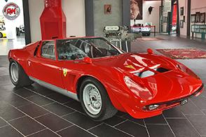 Al Museo Ferruccio Lamborghini, presente l'unico esemplare di Miura Jota