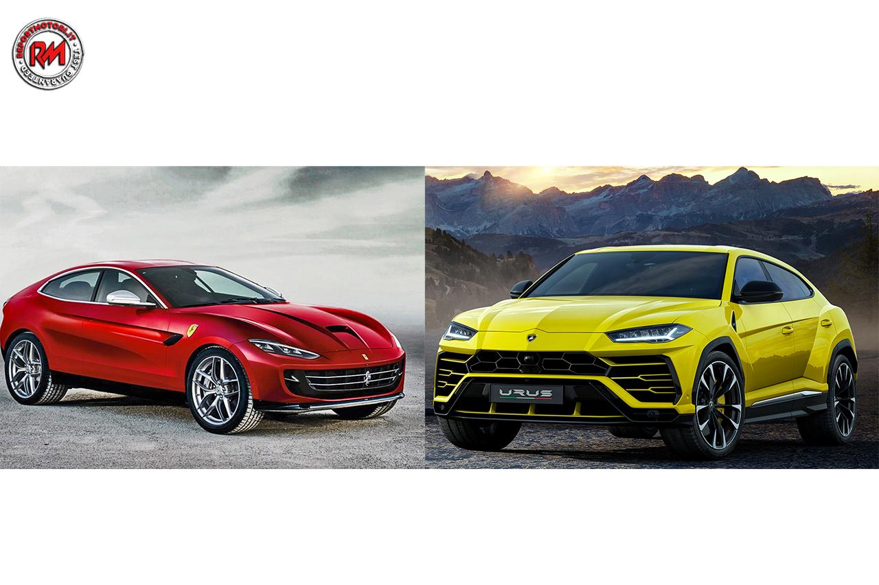 Lamborghini Urus o SUV Ferrari? Scontro tra titani!