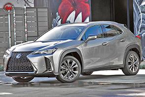 Una nuova dimensione del lusso con il crossover Lexus UX