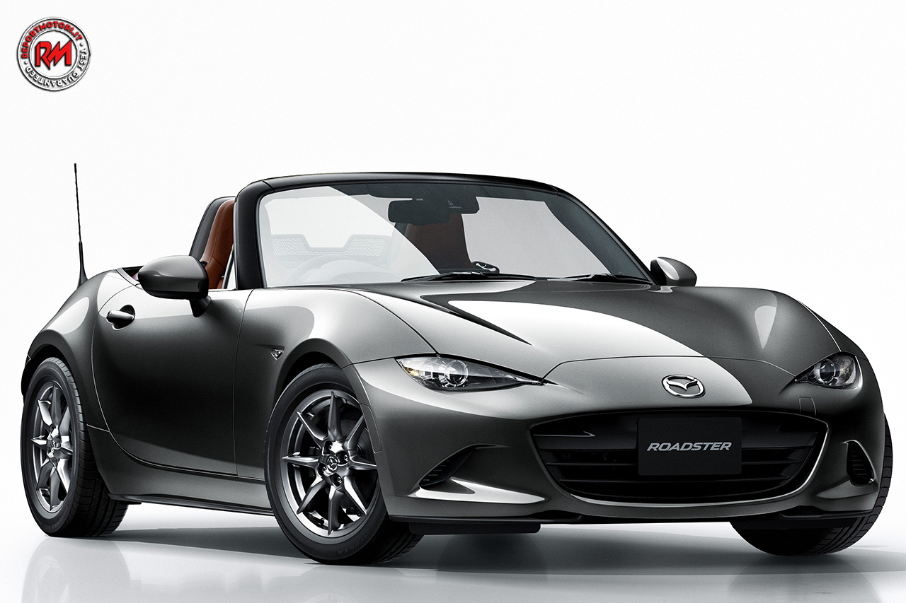 arriva la quarta generazione dell 39 iconica mazda mx 5. Black Bedroom Furniture Sets. Home Design Ideas