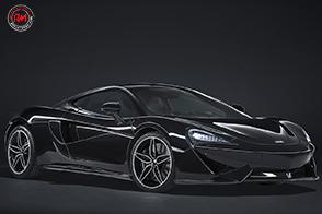 McLaren 570GT  in abito nero con MSO Black Collection: solo 100 esemplari