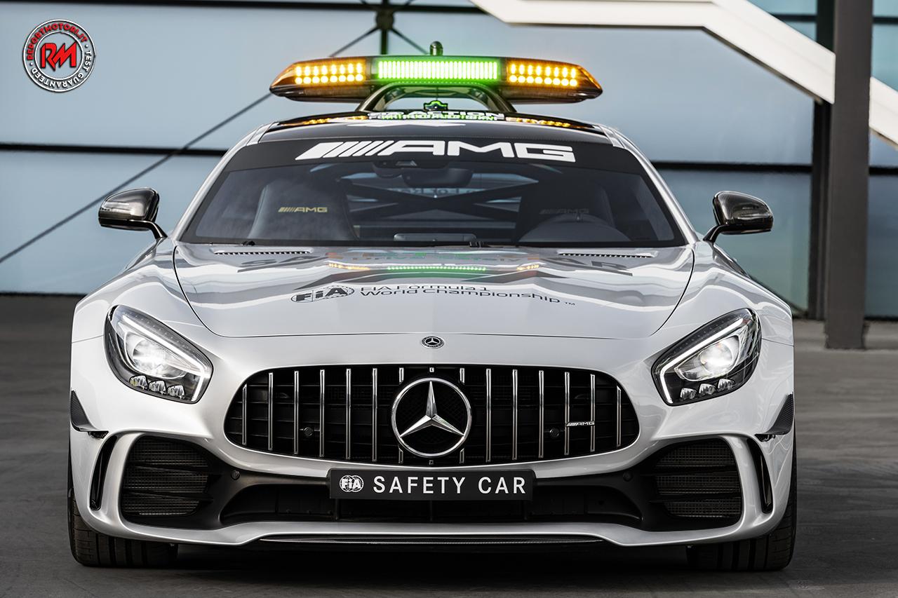 mercedes amg gt r safety car del campionato mondiale di f1 2018. Black Bedroom Furniture Sets. Home Design Ideas