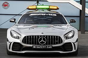 Mercedes-AMG GT R safety car del Campionato Mondiale di F1 2018