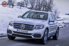 Elettrico con cella a combustibile: Mercedes-Benz GLC F-CELL