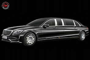 Lusso e sfarzo per la Mercedes-Maybach S650 Pullman