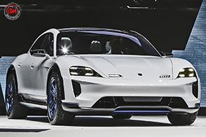 Al Salone di Ginevra, Porsche presenta la futuristica Mission E Cross Turismo